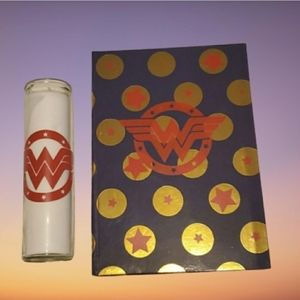 WONDER WOMAN JOURNAL & CANDLE